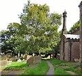 SK0580 : St Thomas Becket Churchyard by Gerald England