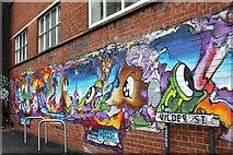ST5973 : Mural, Wilder Street, Bristol by Derek Harper