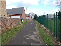 SE4111 : Footpath - Church Street by Betty Longbottom