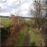 SE2342 : Footpath from Otley Old Road to Moorland Road by Rich Tea