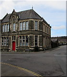 SS8591 : Grade II listed Edwardian building on a town centre corner, Maesteg by Jaggery