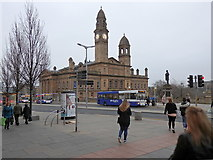 NS4864 : Paisley Town Hall by Rudi Winter