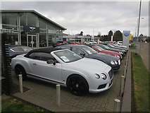 TL4661 : Bentley dealership, Milton Road by Hugh Venables