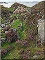 NB1637 : Mill lade, Breacleit Norse mill, Great Bernera/Beàrnaraigh by Claire Pegrum