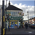 TL0822 : Corner shop, Dunstable Road, Bury Park, Luton by Robin Stott