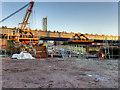 SJ8297 : Ordsall Chord Construction Site (Dec 2016) by David Dixon
