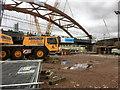 SJ8297 : Ordsall Chord Construction Site (Feb 2017) by David Dixon