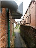 SZ0894 : Winton: under a ventilation outlet on footpath L01 by Chris Downer