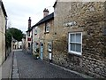 TF0206 : Looking down Kings Mill Lane in Stamford, Lincs by Richard Humphrey
