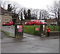 SS8176 : Royal Mail vans, Gordon Road, Porthcawl by Jaggery