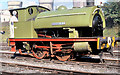 SD7901 : Steam Locomotive at Agecroft Power Station by David Dixon