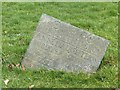 SK6913 : Belvoir Angel headstone, St Luke's churchyard, Gaddesby by Alan Murray-Rust