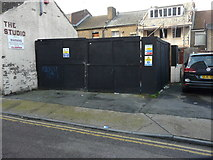 TQ7567 : Conversion of 22, High Street, Chatham by John Baker