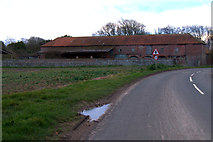TA3719 : Barn at Skeffling by Mike Pennington