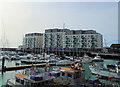 TQ3303 : Sirius Hotel, Brighton Marina by Paul Gillett