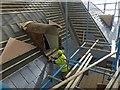 ST2885 : Repairing a dormer window, Tredegar House by Robin Drayton