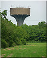 TF9321 : Water tower near Stanfield by Stephen Richards