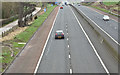 J2965 : The M1, Tullynacross near Lisburn - March 2017(1) by Albert Bridge