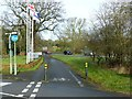 SP3069 : Cycleway past the Ramada Hotel by Alan Murray-Rust