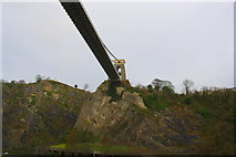 ST5673 : Clifton Suspension Bridge from west side of the Avon Gorge by Roger Templeman