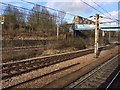 TQ3187 : View from a Peterborough-London train - High Barnet branch by Nigel Thompson