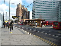 TQ3266 : West Croydon:  New Bus Station by Dr Neil Clifton