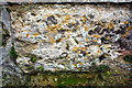 SP6828 : Benchmark on the tower of All Saints' Church by Roger Templeman
