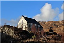 NM7582 : Our Lady of the Braes Church at Polnish by Alan Reid