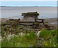 TA1620 : Derelict jetty and the Humber estuary by Mat Fascione