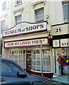 TV6198 : The Museum of Shops, Cornfield Terrace, Eastbourne by PAUL FARMER