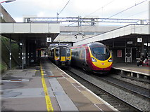 SP3378 : Platforms 3 & 4 Coventry Station by Roy Hughes
