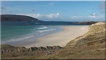 NC3969 : The beach at Balnakeil Bay by Julian Paren