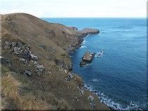 NC3971 : East side of Faraid Head by Julian Paren