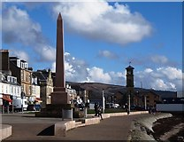 NS2982 : Henry Bell Monument Helensburgh by Steve Houldsworth