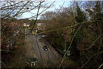 TL1215 : Luton Road from the Nickey Line bridge by Robert Eva