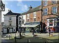 SK1746 : Victoria Square, Ashbourne by Alan Murray-Rust