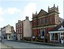 SK1746 : Church Street, Ashbourne by Alan Murray-Rust