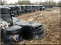 SK6534 : Rubbish dump near Cotgrave Gorse by Graham Hogg