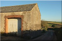 SS5318 : Barn, St Giles in The Wood by Derek Harper