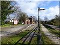 SJ3377 : Hadlow Road preserved railway station by Raymond Knapman