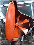 ST5772 : Rudder and propeller of the SS Great Britain by Oliver Dixon