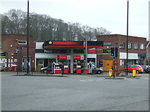 SP2778 : Service station on Tile Hill Lane by JThomas