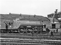 SK3635 : 'Flying Scotsman' back from America, 1973 by John Sutton