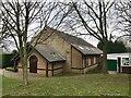 SJ8443 : Newcastle-under-Lyme: Our Lady & St Werburgh Catholic Church, Clayton by Jonathan Hutchins