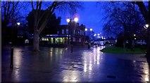 TQ3289 : West Green By Night by John Kingdon