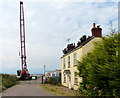TA0623 : Crane and house at Old Ferry Wharf by Mat Fascione
