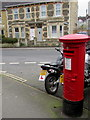 ST7364 : King George VI pillarbox, Third Avenue, Oldfield Park, Bath by Jaggery