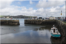 SW8132 : Falmouth Harbour, Cornwall by Christine Matthews