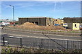SP3165 : Vitsœ site, Old Warwick Road, Leamington, 13 March 2017 by Robin Stott