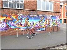 ST5973 : Street art on Wilder Street by Oliver Dixon